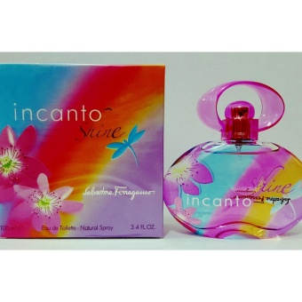 Salvatore Ferragamo Incanto Shine Eau De Toilette for Women 100ml