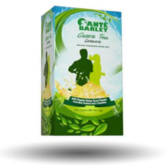 Sante Barley Green Tea with L-Carnitine (7gms/10 Sachets)