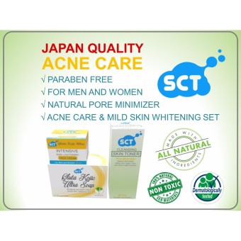 SCT Acne Care and Face Whitening Set (Organic)