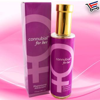 Sex Perfume Pheromone Attractant Cologne for Her (Pink)