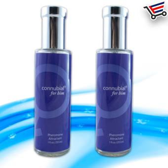 Sex Perfume Pheromone Attractant Cologne for Her Set of 2 (Blue)