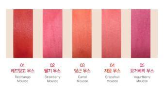 Shop Korea Mousse Candy Lip Tint (Red Mango Mousse) - 3