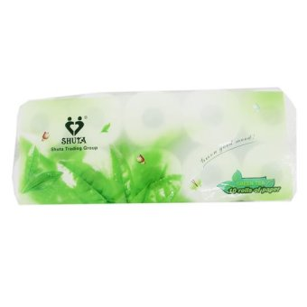 SHUTA (S-0011) GREEN ROLL TISSUE 10'S Price Philippines