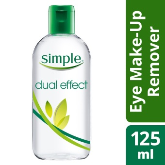 Simple Dual Effect Eye Make Up Remover 125ml