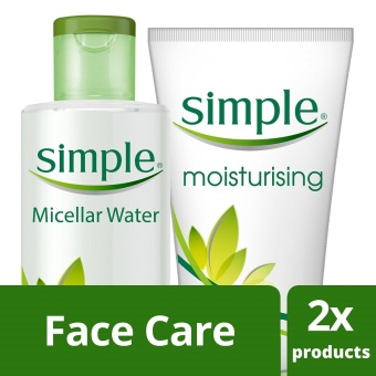 Simple Must - Haves: Moisturizing Facial Wash and Micellar Water