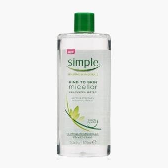 Simple Sensitive Skin Experts Micellar Cleansing Water 400 mL