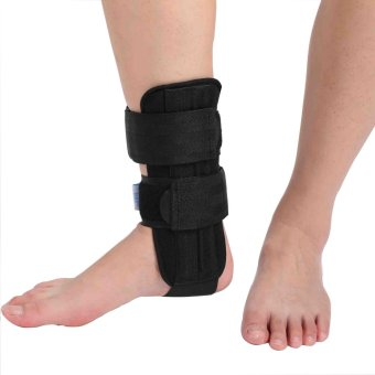 (Size M) Medical Ankle Article Aluminum Support Brace For AcuteAnkle Injury - intl