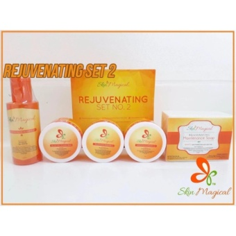 Skin Magical Rejuvenating Set #2 with FREE Pilaten Black Head Remover Pore Strip