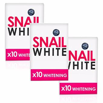 Snail White Soap 10X Whitening Power 70g Bundle of 3 Price Philippines