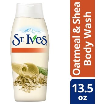 St. Ives Oatmeal Shea Butter Body Wash 13.5oz