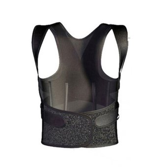 Straightener Unisex 3D Therapy Posture Corrector Back Shoulder Support Brace XXL