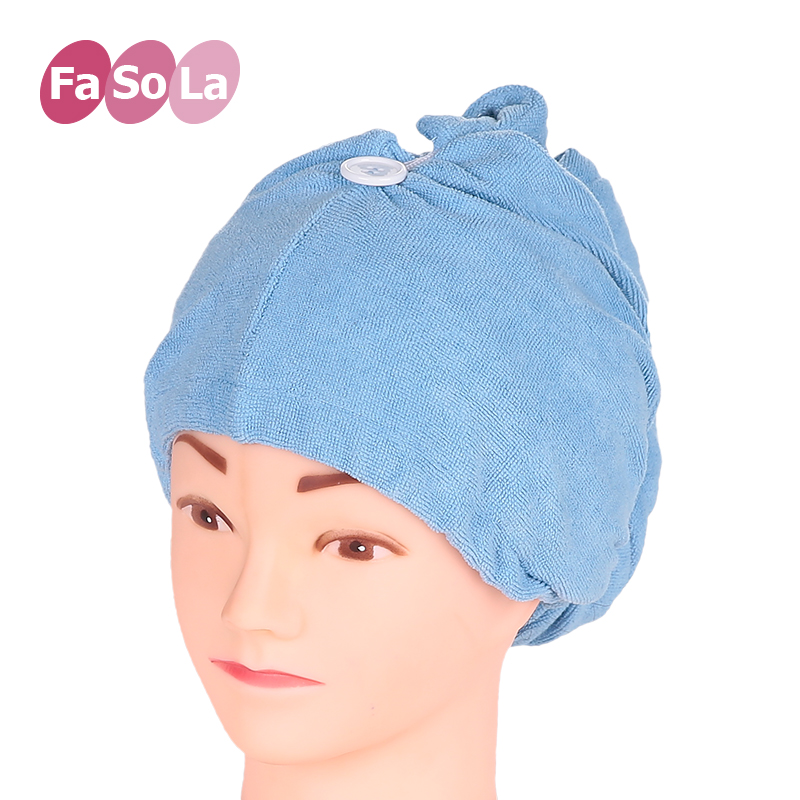 Strong absorbent headscarf dry hair cap