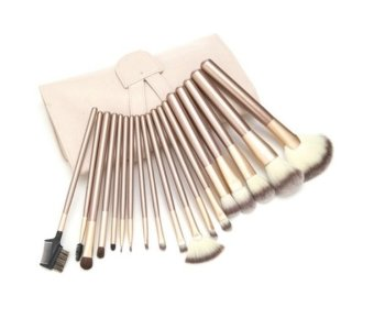 Superlady Professional 12Pcs Cosmetic Makeup Make Up Brush BrushesGold