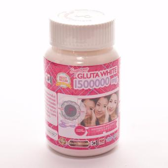 Supreme Gluta White 1500000mg with Grape Seed Extract, 30 Softgel