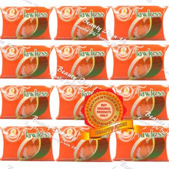 Sutla Flawless Papaya Soap Super Skin Whitener 60gms Set of 12