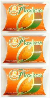 Sutla Flawless Papaya Soap Super Skin Whitener 60gms Set of 3
