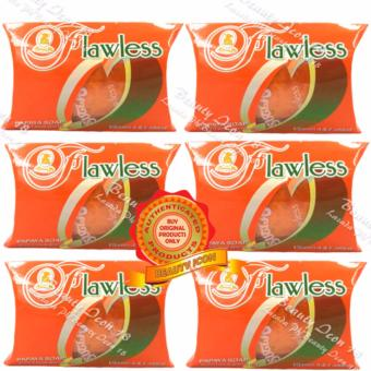 Sutla Flawless Papaya Soap Super Skin Whitener 60gms Set of 6