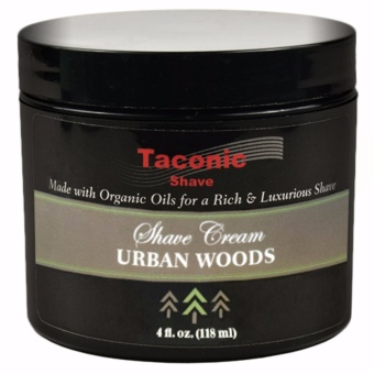 Taconic Shave Urban Woods Shave Cream