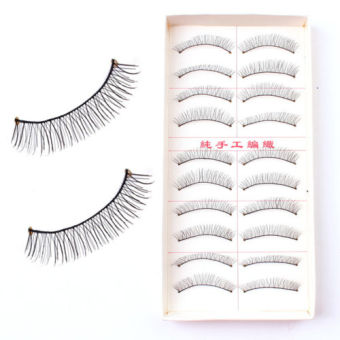 Taiwan 10Pairs Makeup False Eyelashes Extension - 217