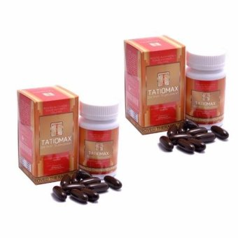 Tatiomax Reduced Glutathione Sodium Ascorbate and Collagen Softgel Capsules 1600mg Bottle of 30 (2 bottles)