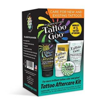 Tattoo Goo Aftercare Kit Includes Soap New formula Tattoo Goo Lotion Goo Renew Price Philippines