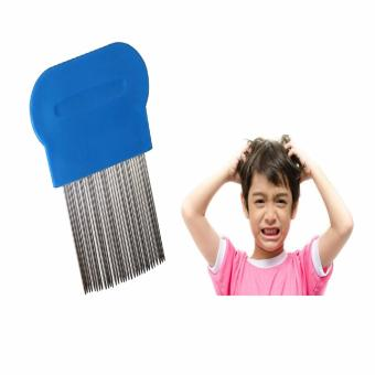 Terminator Lice Nit DANDRUFF Magic Comb Suyod Stainless Steel BLUE Price Philippines