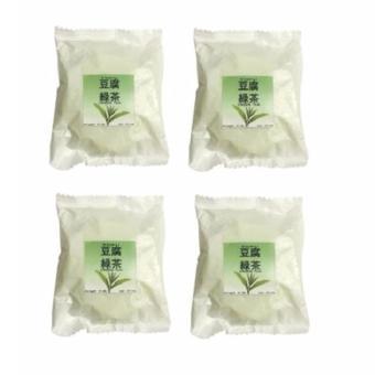 Thailand Tofu Green Tea Soap, 50g (Set of 4)