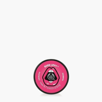 The Body Shop Born Lippy Raspberry Lip Balm 10ml
