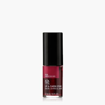 The Body Shop Lip and Cheek Stain Pink Hibiscus 001 7.2 mL