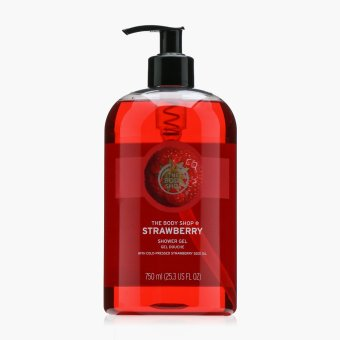 The Body Shop Strawberry Shower Gel 750mL Price Philippines