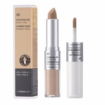 THE FACE SHOP Concealer Dual Veil (v201) From Korea