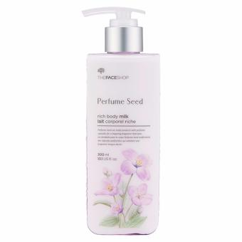[THE FACE SHOP] Perfume Seed Rich Body Milk - 300ml