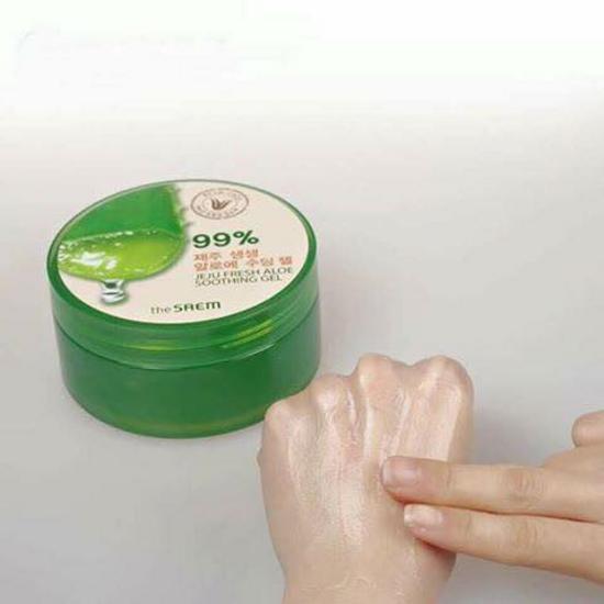 The Saem Jeju Fresh Soothing And Moisturizing Aloe Vera Gel 300ml-Set of 1 ...
