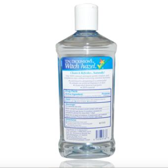 T.N. Dickinsons's Witch Hazel 100 % Natural Astringent 237ml - 2