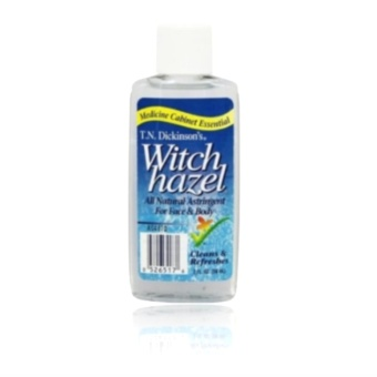T.N. Dickinsons???s Witch Hazel 100 % Natural Astringent 59ml 20zwith FREE Nose Up Lifting Clip (Pink)