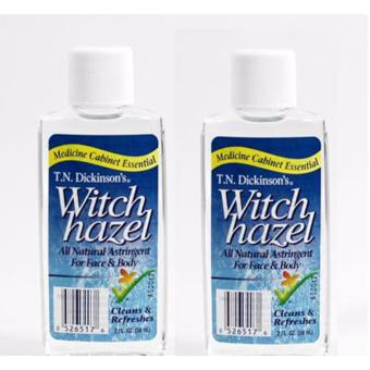 T.N. Dickinsons's Witch Hazel 100 % Natural Astringent 59ml Set of2