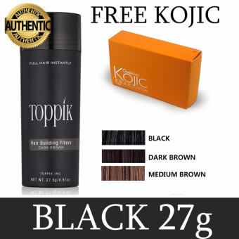 Toppik Hair Building Fibers (27g) (BLACK)