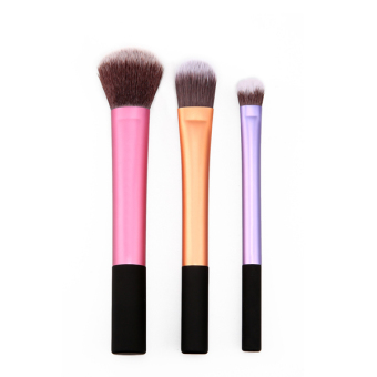 Toprank Lady's Makeup Brush Cosmetic Brushes Set With Case 3PCS - picture 2