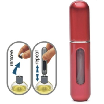 Traveler Perfume Atomizer (Red)