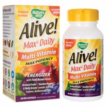 Trendsetter-Nature's Way Alive Max6 Daily Multi-Vitamins Price Philippines
