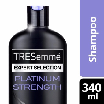 TRESEMME SHAMPOO PLATINUM STRENGTH 340ML