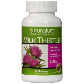 Trunature Milk Thistle 200mg, 300 Softgels Price Philippines