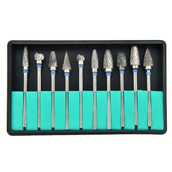 Tungsten Steel Dental Burs Lab Burrs Tooth Drill 10 pcs/ Pack Price Philippines