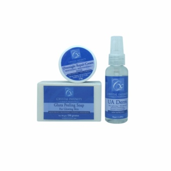 UA Derm Set by Crystal Infinity Beauty Products Price Philippines