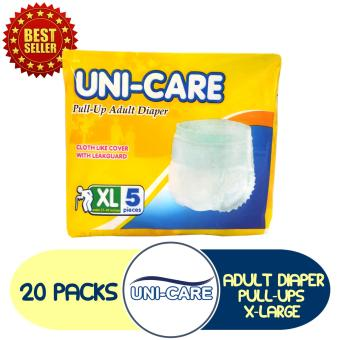 Uni-Care Adult Pull-Ups X-Large 5 Pads Pack of 20