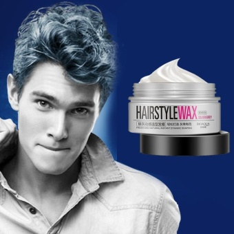 Unisex Silver Grey Hair Modeling Styling Grooming Wax Mud Water Gel 100g - intl - 2