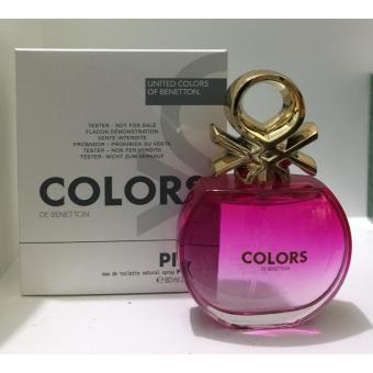 United Colors of Benetton Colors Pink for Her 80ml TESTER