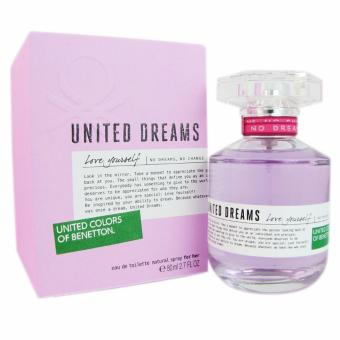 UNITED COLORS OF BENETTON for Women United Dreams Love Yourself Eaude Toilette 80ml/2.7oz (UPC: 8433982000546) Price Philippines