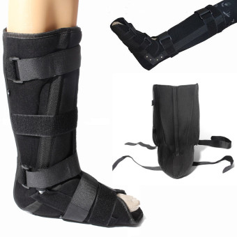 Universal Neoprene Fracture Walker Boot Brace Ankle Support Foot Sprain Injury S - intl Price Philippines