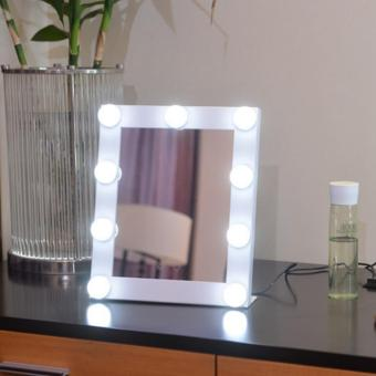 Vanity Hollywood Desktop LED Light Adjustable Makeup Mirror Stage Beauty Touch
